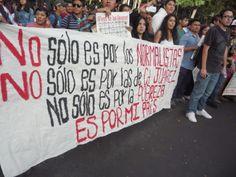 Exhorto de la sociedad civil organizada de Tabasco a más de 40 días de la masacre en Iguala