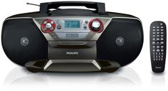 - You can now enjoy your favorite movies, music and even photos from portable USB device on the TV with this all-in-one Philips DVD soundmachine. It plays DVDs, Picture CDs, radio and cassette. Video Cd, Voice Recorder, Latest Gadgets, Amazon Price, Stereo Speakers, Boombox, Audio System, Usb, Dvd Players