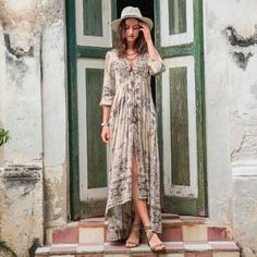 Peaceful Promise Dress, $340 | sundancecatalog.com