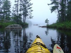 Kayaking......especially in the BWCA in northern Minnesota.