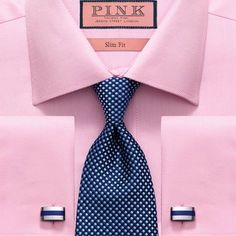 Thomas Pink Charles' Look Shirt Tie Combo, Dress Shirt And Tie, Suit And Tie, Tied Shirt, Sharp Dressed Man, Well Dressed Men, Thomas Pink Shirts, Shirt And Tie Combinations, Look Man