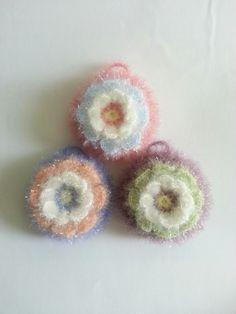 송쥬님의 메르시로 뜬 핀플라워수세미(도안첨부) : 네이버 블로그 Crochet Scrubbies, Free Crochet, Crochet Earrings, Bubbles, Stud Earrings, Knitting, Blog, Jewelry, Tutorials