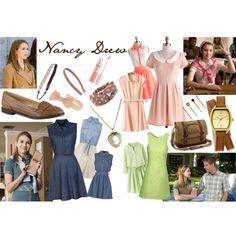 """Nancy Drew #1, #2, & #3 (Nancy Drew Movie)"" by wilsonsisterto7 on Polyvore"