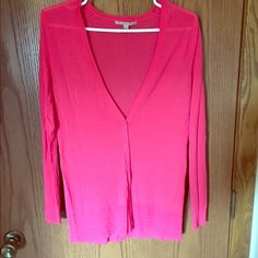 Gap Cardigan Gap Cardigan, pink, light-weight, great condition, only worn a handful of times, size extra small but fits like a small Gap Sweaters Cardigans