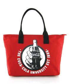 Look at this Coca-Cola University Canvas Tote on #zulily today!