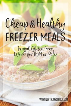 Cheap and healthy freezer meals - these are less expensive meals that are gluten-free and work for THM or Paleo. Great list!