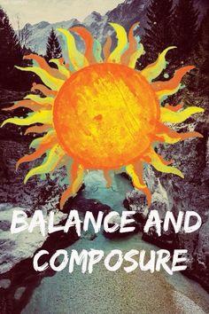☮ American Hippie Art Quotes ~ Balance