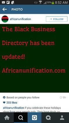 Black biz directory