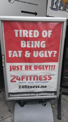 At my local gym...