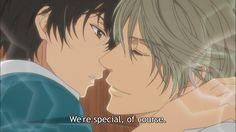 Haru & Ren  Super lovers