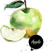 手绘创意水彩水果 - Google 搜尋