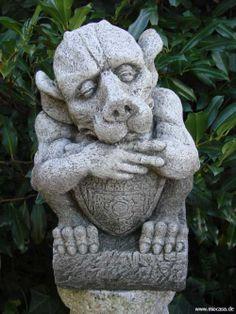 Gartendeko aus stein  gargoyles garten stein - Ecosia Yahoo Suche Bildsuchergebnisse ...