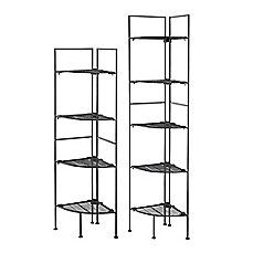 The Container Store has the Origami® 4Shelf Folding Rack