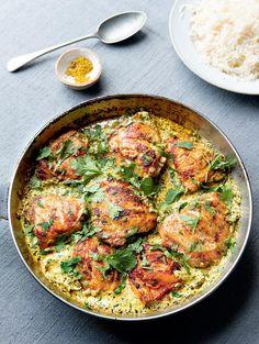 Coriander Chicken - The Happy Foodie