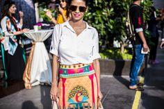 Lakmé Fashion Week Street Style On the Streets of Mumbai - Mumbai Street Style-Wmag