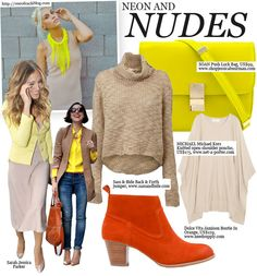 Neon and Nude mylookbook | Online fashion magazine and blog