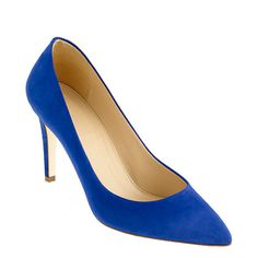 always wanted me some blue suede shoes