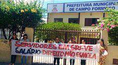 NONATO NOTÍCIAS: Servidores realizaram nova manifestação na cidade ...