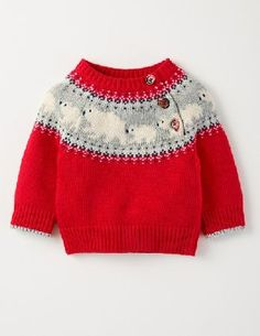 Knitting for kids cardigans fair isles 38 Trendy ideas Crochet Pullover Pattern, Crochet Baby Cardigan, Sweater Knitting Patterns, Crochet Patterns, Baby Sweaters, Winter Sweaters, Holiday Sweater, Baby Christmas Jumper, Christmas Holiday