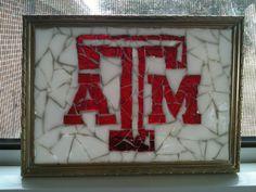 Small Texas A mosaic