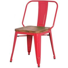 Grand Metal Chair RED
