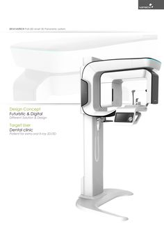 Dental X-ray system on Behance