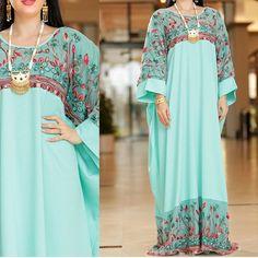 Modern Hijab Fashion, Abaya Fashion, Muslim Fashion, African Attire, African Fashion Dresses, African Dress, Mode Abaya, Linen Shirt Dress, Night Dress For Women
