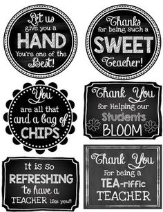 Teacher Appreciation Printable Gift Tags by Queen of the Jungle Appreciation Message, Teacher Appreciation Week, Teacher Appreciation Breakfast, Principal Appreciation, Volunteer Appreciation Gifts, Student Gifts, Teacher Gifts, Teacher Presents, Teacher Gift Baskets