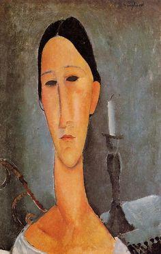 Portrait of Anna Zborowska by Modigliani