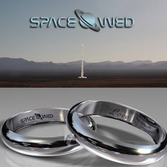 Unearthly Commitment: Out Of This World Wedding Rings Made of Gold That Went To Space.