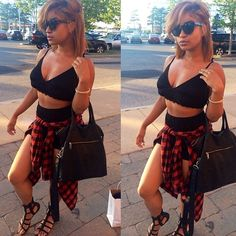 She kill it Dope Outfits, Fashion Outfits, Womens Fashion, Little Bit, Pretty Girl Swag, Fashion Killa, Summer Looks, Swagg, Types Of Fashion Styles
