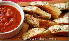 Cream Cheese Pizza Roll-ups... YUM.