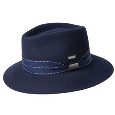 e2436669842 The Stripe Barclay Trilby from Kangol is made out of a crushable