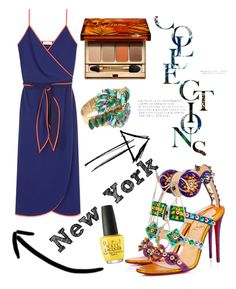 """""""fashion"""" by veronika-grabanova on Polyvore featuring Christian Louboutin, Tory Burch, Clarins and OPI"""