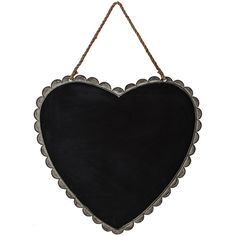 Designs Combined Inc. Black Heart Chalkboard (1.505 RUB) ❤ liked on Polyvore featuring home, home decor, office accessories, black chalk board, metal chalkboard and black chalkboard