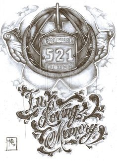 firefighter tattoo designs ideas | Firefighter memorial tattoo de by ~Nehemya on deviantART