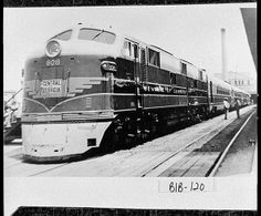 Macon, Nancy Hanks, a train on the Central of Georgia line on display at Terminal Station, located at Fifth and Cherry Streets. It was on display because it was making its first run. Photo courtesy of The Georgia Archives, Vanishing Georgia Collection. Rail Train, Train Car, Train Travel, Electric Locomotive, Diesel Locomotive, Georgia Usa, Macon Georgia, Historic Savannah, Southern Railways