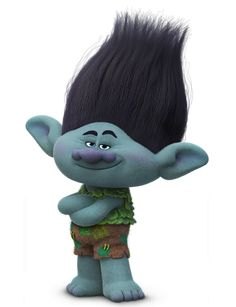 Branch is a dynamic character because in the beginning of the movie he was the only sad and colorless troll until towards the end when his friends were in trouble he cheered them up and became happy and colorful. Los Trolls, Troll Halloween Costume, Halloween 2017, Halloween Inspo, Trolls Birthday Party, Troll Party, Branch Trolls, Branch Costume, Birthday