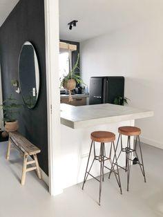 Home Decor ideas &Home Garden & Diy Rustic Kitchen, Kitchen Decor, Kitchen Design, Kitchen Ideas, Black Kitchens, Home Kitchens, Kitchen Black, Sweet Home, Kitchen On A Budget