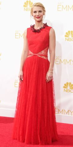 Claire Danes's Best Red Carpet Looks Ever - In Givenchy, 2014 from #InStyle