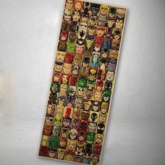 Avengers Cartoon Vintage Large Poster Wall Paper Home Decor Art Painting Mixed Order 110x42CM