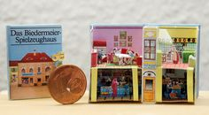 Miniature Pop-Up Biedermeier Spielzeughaus one-inch-scale on Etsy, $139.61
