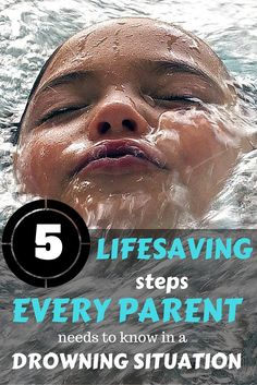 So Important to be prepared in drowning situations! Great Info