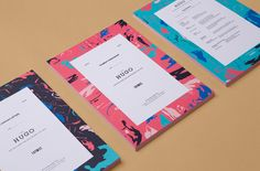 Branding and print for Australian property development The Hugo by Studio Brave, Australia