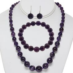 10mm Amethyst Round Bead Necklace Bracelet and Earrings Set Gem Stone King,http://www.amazon.com/dp/B006NZQ80M/ref=cm_sw_r_pi_dp_Q3mktb1BX2Q4NEDK