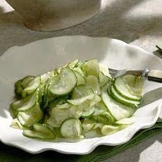 Ginger Cucumber Salad Recipe