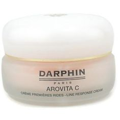 Arovita C Line Response Cream ( For Normal to Dry Skin ) 50ml/1.6oz by Darphin. $76.94. This beauty product is 100% original.. Vitamin-enriched cream helps promote a youthful look Reduces & prevents appearance of first signs of aging Boosts production of skin natural collagen Protects skin against external aggressors Leaves skin smooth supple & radiant Suitable for all skin types Apply to face & neck in morning & night