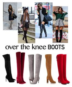"""Over-The-Knee Boots"" by nerdywordy ❤ liked on Polyvore featuring Kendall + Kylie, Aquazzura, Cole Haan and Kerr®"