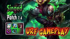 #louzzone #gameplay #Singed #URF https://youtu.be/ayndSUFQmN0