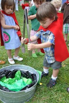 Make kryptonite for the kids :)